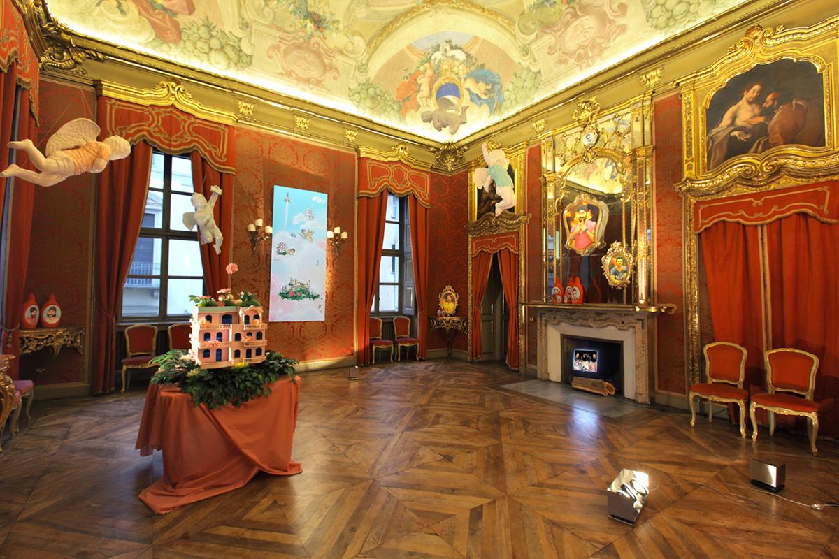 Spazio espositivo a Torino